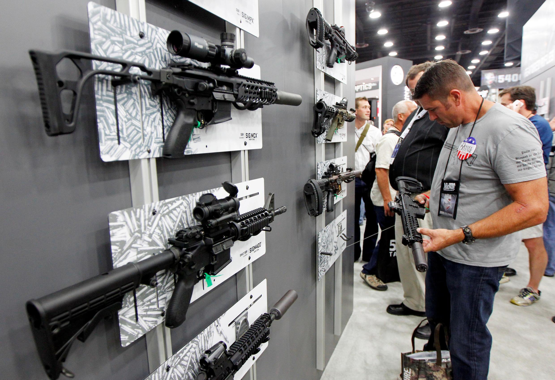 Venda de armas aumenta nos EUA