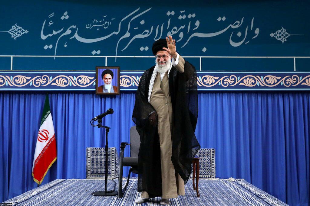 Giáo chủ Iran Ali Khamenei, Teheran, 13/08/2018.
