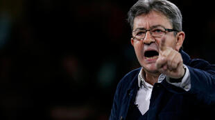 Jean-Luc Melenchon of the French far left Parti de Gauche and candidate for the 2017 French presidential election delivers a speech as he holds a political rally in Rennes, France, March 26, 2017