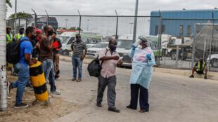 Afrique du Sud - Zimbabwe - frontière - Beitbridge