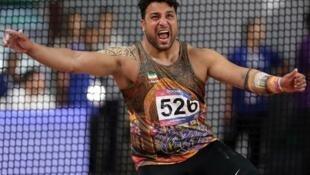 احسان حدادی، برنده مدال نقره المپیک