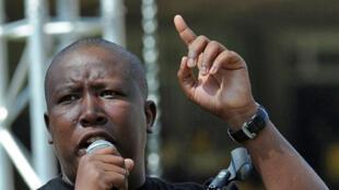 ANC Youth League chief Julius Malema