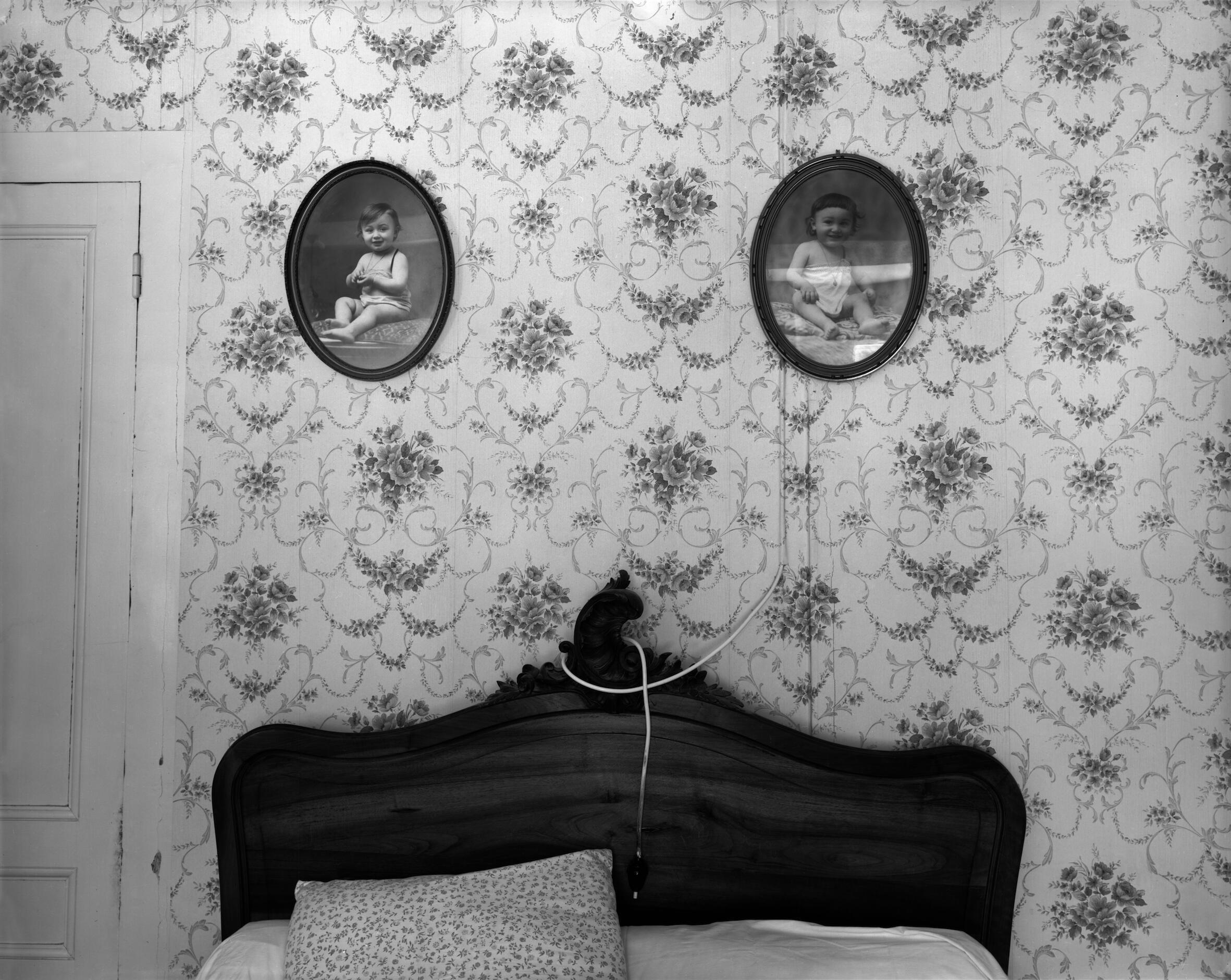 Ferme de Garet, quarto dos pais, 1984.