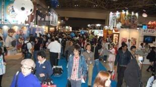 Exhibition hall 3 of the Tokyo International Anime Fair 2008