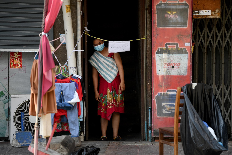 Cambodge - Phnom Penh - Covid - Confinement - 000_98R966
