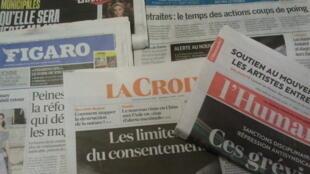 Primeiras páginas dos jornais franceses de 22 de janeiro de 2020