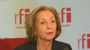 Nicole Bricq, ministre du Commerce extérieur.