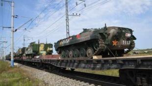 رزمایش نظامی مشترک روسیه-چین