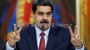 委內瑞拉總統馬杜羅,2019年1月25日。