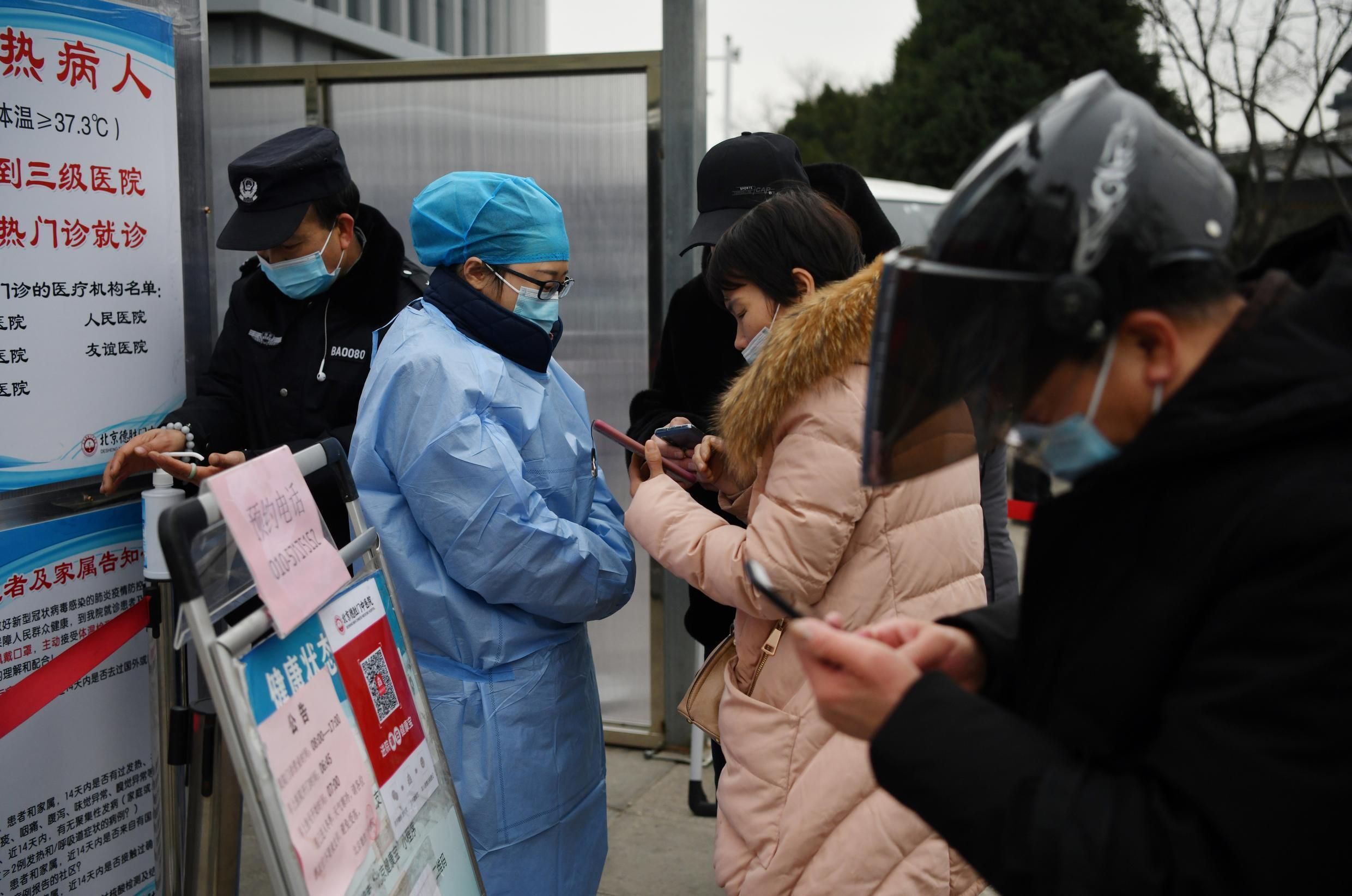 Chinese authorities have stepped up health checks to snuff out the threat of a coronavirus resurgence