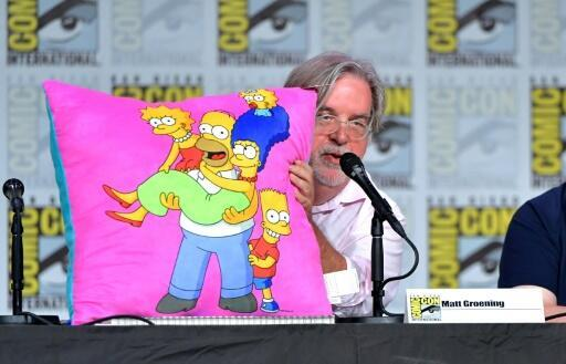 Matt Groening, creator of 'The Simpsons', which says it will no longer use white actors to convey characters of color