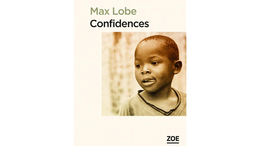La couverture du livre « Confidences » de Max Lobe.
