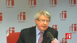 Daniel Jouanneau, ancien ambassadeur de France au Pakistan.