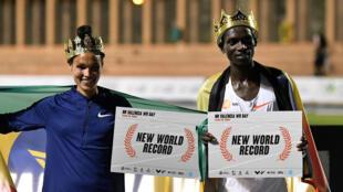 L'Éthiopienne Letesenbet Gidey et l'Ougandais Joshua Cheptegei sont entrés dans l'histoire de l'athlétisme, ce 7 octobre 2020 à Valence (Espagne), avec les records du monde respectifs du 5.000m féminin et du 10.000m masculin.