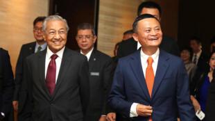 马来西亚总理马哈蒂尔参观中国阿里巴巴集团总部 杭州 2018 8 18