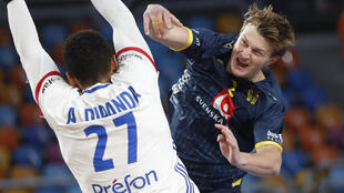 PHOTO Suéde-France handball - 29 janvier 2021
