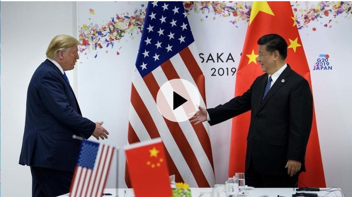 2019年6月29日美中領袖在G20會晤