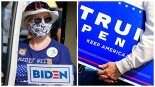 Eleitores Biden Trump