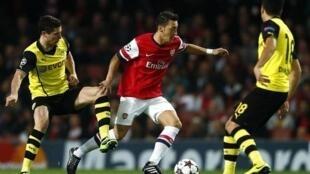 mchezaji wa Arsenal Ozil kazini