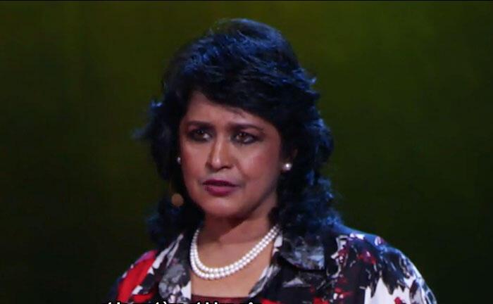 Ameenah Gurib-Fakim (capture d'écran), future présidente de L'Ile Maurice.