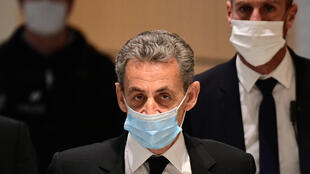 A court will on March 1 give its verdict in a separate corruption trial, with Sarkozy risking a jail sentence of up to four years.