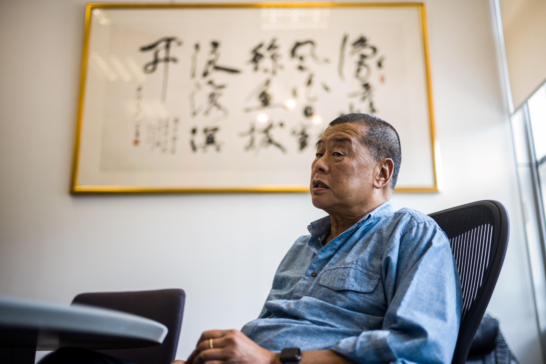 Hong Kong media tycoon Jimmy Lai is one of Beijing's fiercest critics