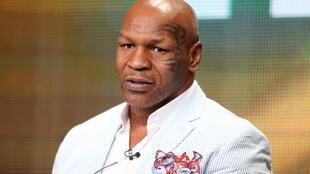 Mike Tyson, en juillet 2013.