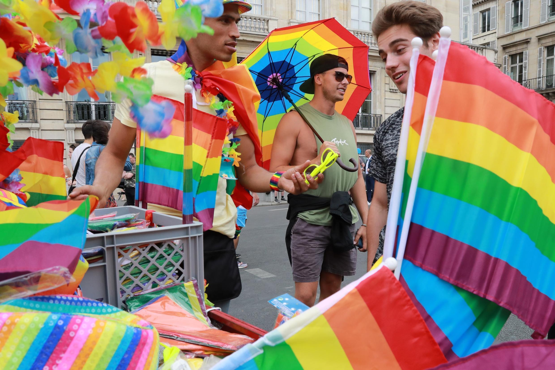 Гей-прайд в Париже, 24 июня 2017 г.