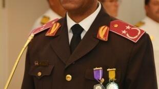 Tenente coronel Anildo Morais, novo chefe de Estado maior general das forças armadas de Cabo Verde