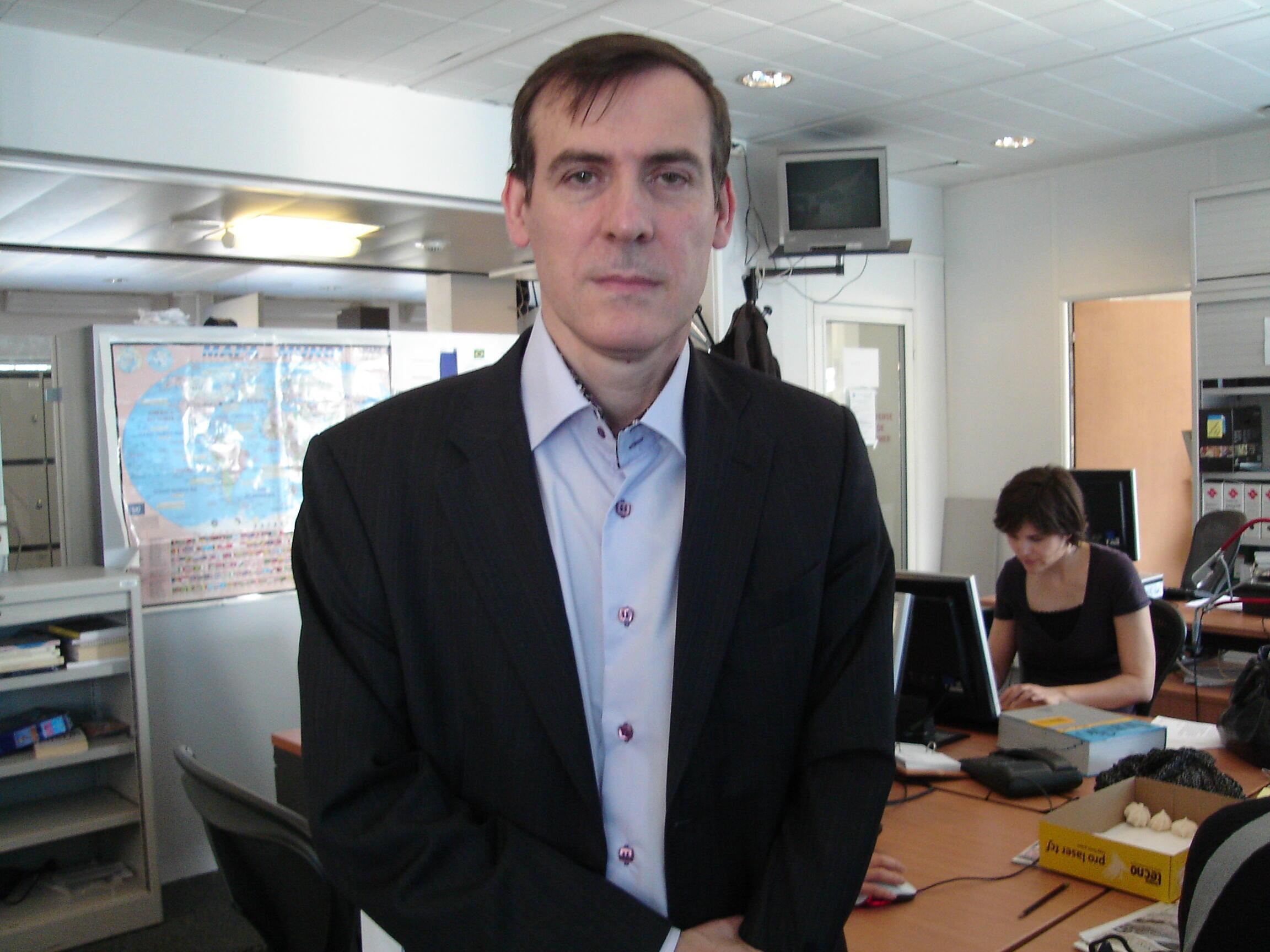 Stéphane Monclaire, cientista político e professor da Universidade Paris 1 - Sorbonne.