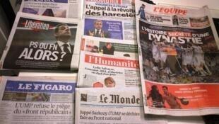 Diários franceses 03/02/2015