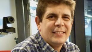 Javier Perianes en los estudios de RFI