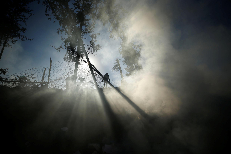 Gaza: após um disparo da aviação israelense neste sábado (9).
