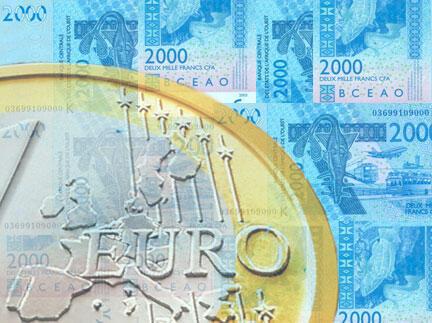 La question de la parité entre l'euro et le franc CFA se pose toujours.