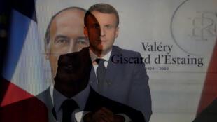 Valéry Giscard-D'Estaing-Emmanuel Macron