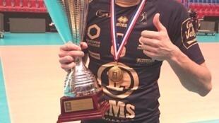 Nuno Pinheiro, atleta português do Tours.