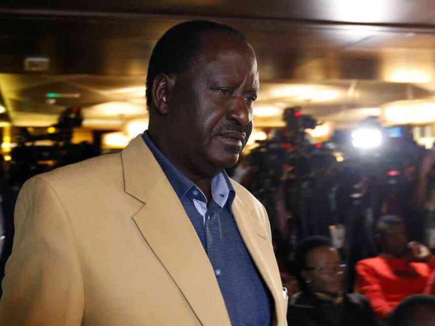 Raila Odinga mgombea wa urais kupitia  muungano wa upinzani NASA