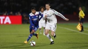 O clube espanhol Real Madri goleou nesta terça-feira (16) os mexicanos do Cruz Azul, por 4 a 0.