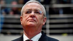 El expresidente de Volkswagen Martin Winterkorn, en enero de 2017 en Berlín