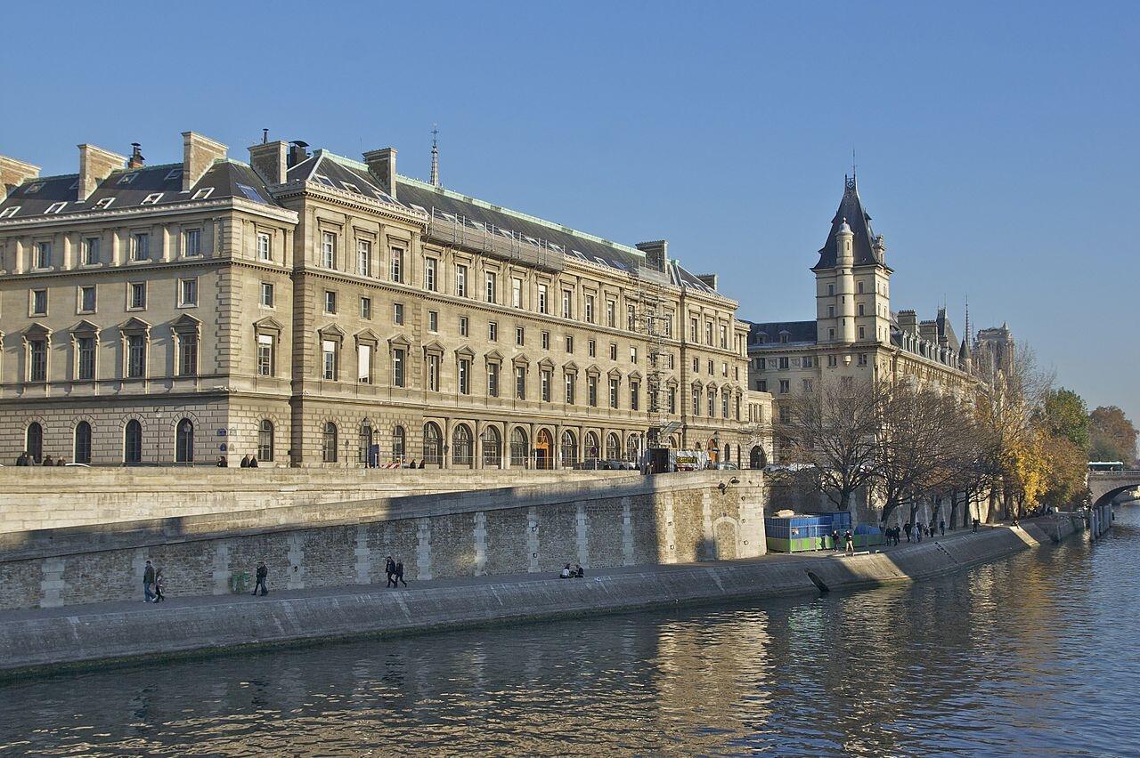 Paris police headquarters.