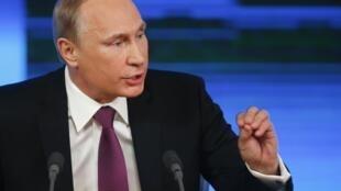ប្រធានាធិបតីរុស្ស៊ី Vladimir Putine