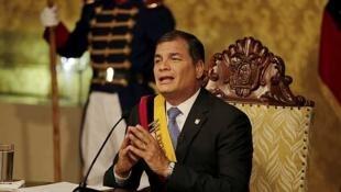 存档图片:厄瓜多尔总统 克雷亚