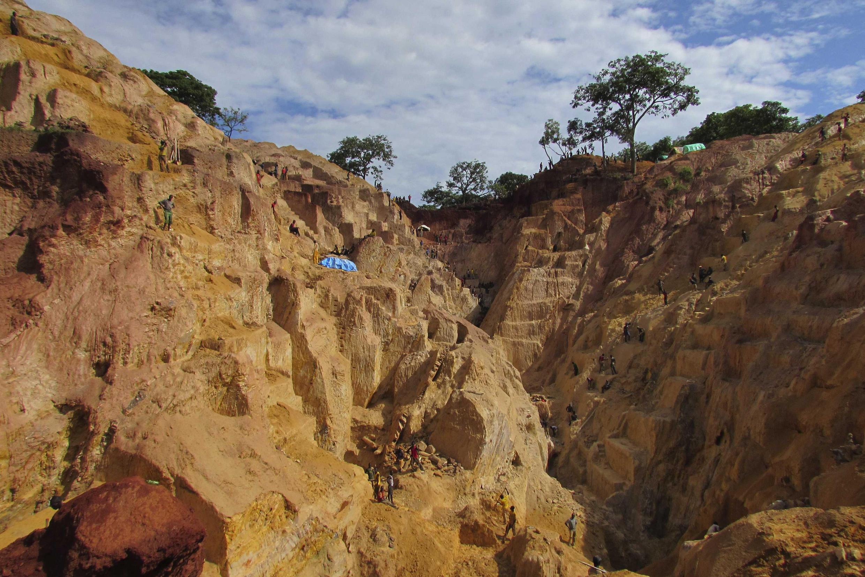 Exploitation dans une mine de Ndassima, en Centrafrique (image d'illustration).