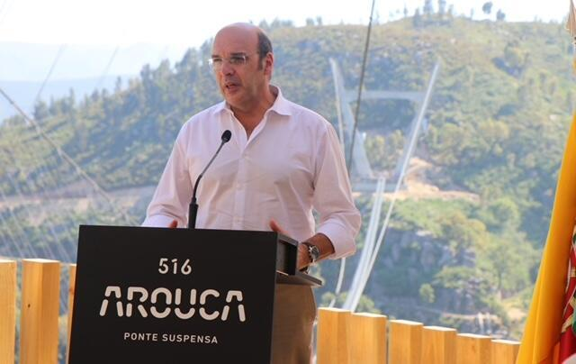 O ministro da Economia de Portugal, Pedro Siza Vieira.