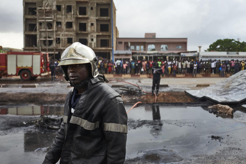 Ñippoowo yiite malinaajo yeeso cumu kamiyon siternewal 24 9ɓuru  2019 , Bamako, Mali.