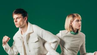 Le duo Minou avec Sabine Quinet et Pierre Simon.