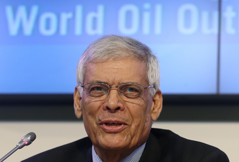 Secretário-geral da Organização dos Países Exportadores de Petróleo (Opep), Abdullah bin al-Badri.