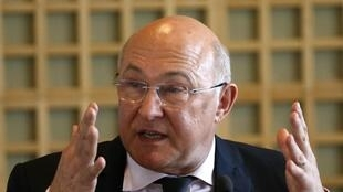 Michel Sapin, le 3 avril 2014.
