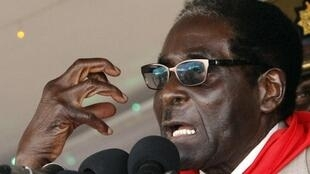 Robert Mugabe celebrating his 89th birthday in Bindura, 2 March 2013