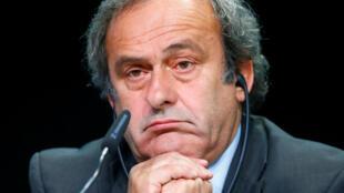 Tsohon shugaban hukumar kula da kwallon kafa ta nahiyar turai UEFA, Michel Platini.